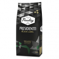 Кофе Paulig (Паулиг) Presidentti Black Label в зёрнах 250 г